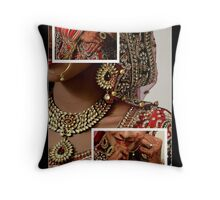 DRESSED UP FOR THE SPECIAL DAY!! Throw Pillow