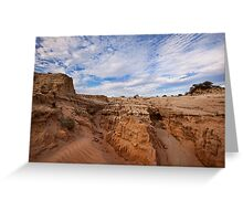 Majestic Mungo - Mungo NP, NSW Greeting Card