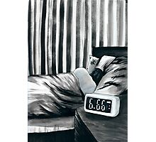 6.66 AM Photographic Print