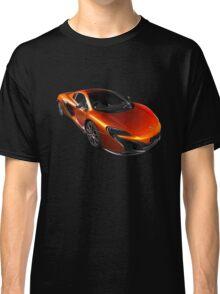McLaren 650S 2015 - Tee / Sticker Design - Volcano Orange Supercar Classic T-Shirt