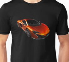 McLaren 650S 2015 - Tee / Sticker Design - Volcano Orange Supercar Unisex T-Shirt