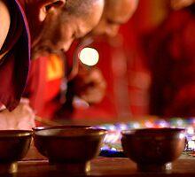 Making the mandala by Ritu Lahiri