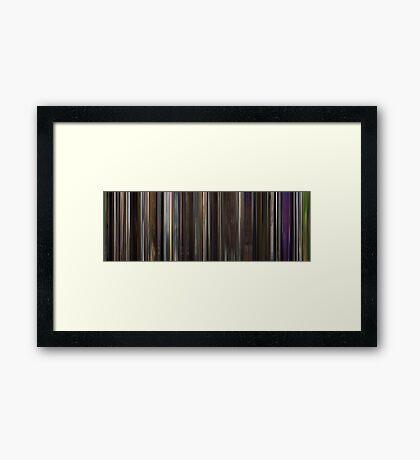Moviebarcode: I'm Still Here (2010) Framed Print