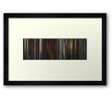 Moviebarcode: In Bruges (2008) Framed Print