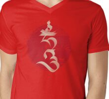 "The Seed Syllable ""Hum"" Mens V-Neck T-Shirt"