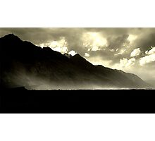 Dust storm on the Nubra Photographic Print