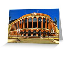 Citifield - Home of the New York Mets Baseball Club Greeting Card
