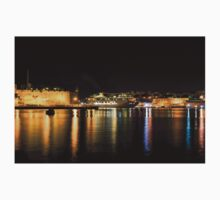 Reflecting on Malta - Cruising Out of Valletta's Grand Harbour Kids Tee