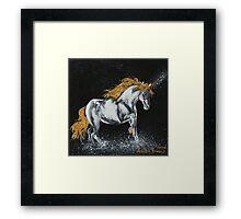 Unicorn Mist Framed Print
