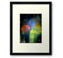 Reality changes... Framed Print