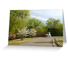 Azalea Festival Transportation Greeting Card