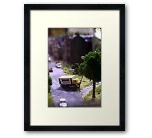 A model sense of humour! Framed Print