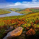 Ladybower from Above by Martin Jones