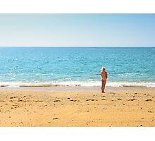 Bottom of the Deep Blue Sea Photographic Print