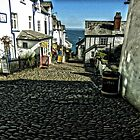 Clovelly, Cornwall by hans p olsen