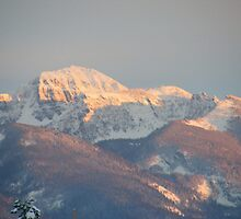 Sunset - Mission Mountains 1 by PKBerry