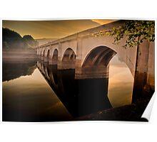 Bridge over a Lost Village Poster