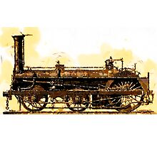 A Crampton Steam Locomotive 1846 Photographic Print