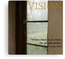 Inspiration - Vision Canvas Print