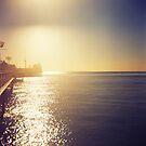 Glow of the Pier by iamsla