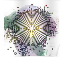 Meditative Labyrinth Poster