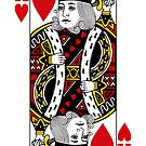 King Of Hearts Playing Card by CaseBase
