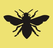 Bee Silhouette Kids Clothes