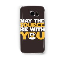 May The Source Be With You - Tux Edition Samsung Galaxy Case/Skin