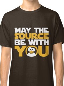May The Source Be With You - Tux Edition Classic T-Shirt