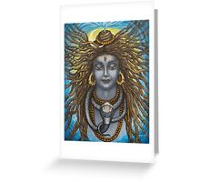 Gangadhara Shiva Greeting Card