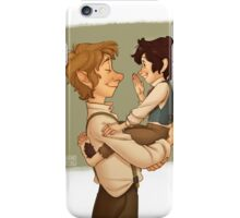 The Baggins that showed real spirit iPhone Case/Skin