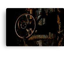 Rusty Valve Canvas Print
