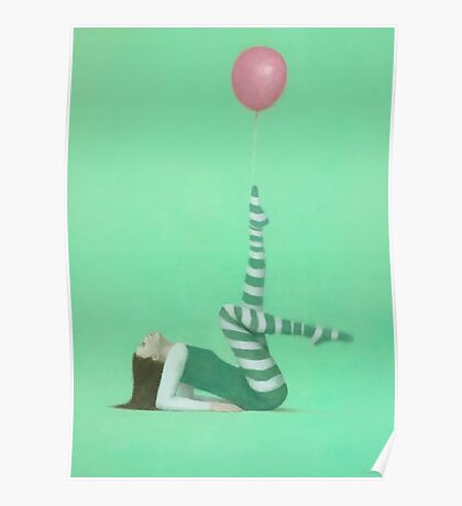 The Pink Balloon I Poster