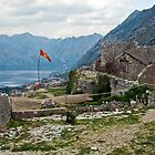 Mountainside Ruins in Montenegro by Jillian Rubman