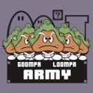 Goompa Loompa Army by Baardei