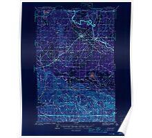 USGS Topo Map Washington State WA Yelm 244833 1944 62500 Inverted Poster