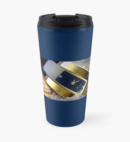 Time Drops, Love Will Survive Travel Mug