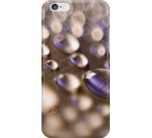 Aluminium drops iPhone Case/Skin