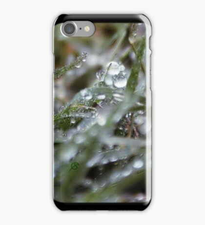 Rain drops  iPhone Case/Skin