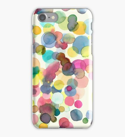 Color drops iPhone Case/Skin