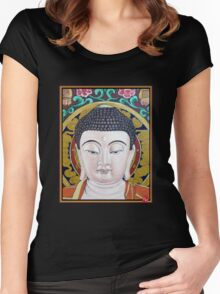 Goddess Tara Women's Fitted Scoop T-Shirt