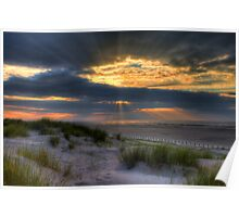 Ainsdale Sunset  Poster