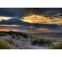 Ainsdale Sunset  Photographic Print