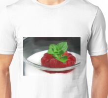 Raspberry in Pole Position Unisex T-Shirt