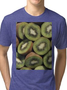 Kiwi Fruit Tri-blend T-Shirt