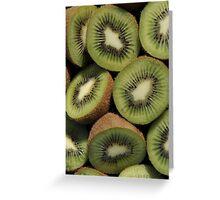 Kiwi Fruit Greeting Card