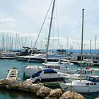 Harbor view in Split, Croatia by Jillian Rubman
