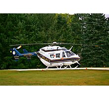 Chopper Photographic Print