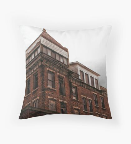 Grand View Hotel Throw Pillow