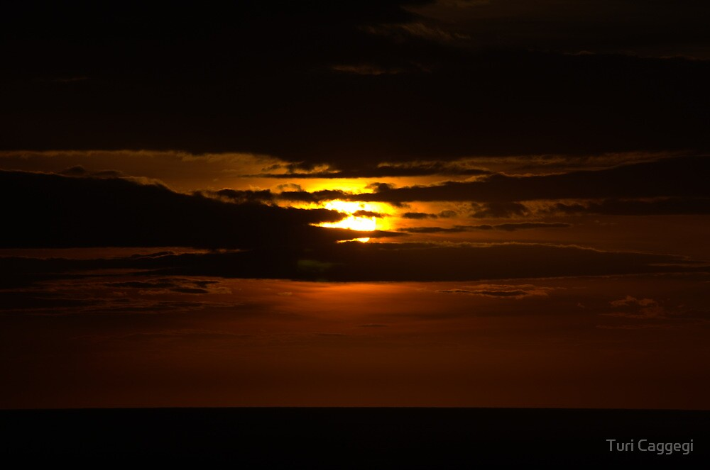 The Green Light at Sunrise by Turi Caggegi